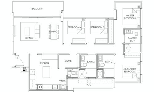 ola-ec-floorplan-4-bedroom-c1